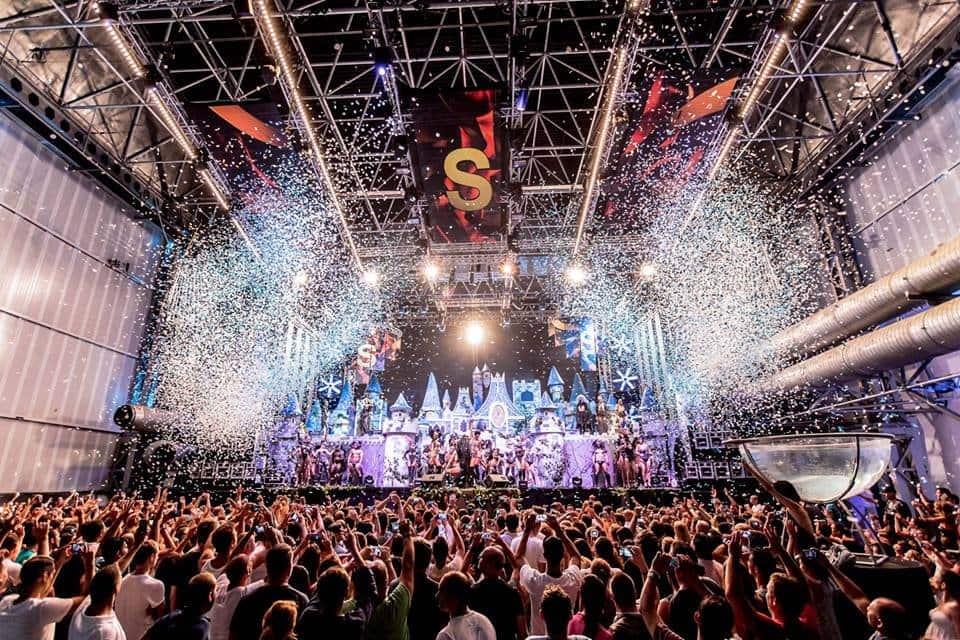 Festa Supermartxé na Balada Privilege em Ibiza
