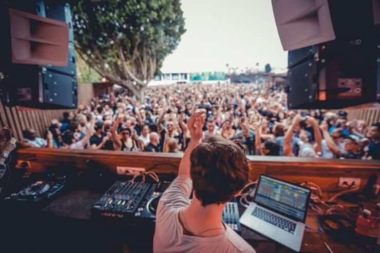 Festa na DC-10 em Ibiza