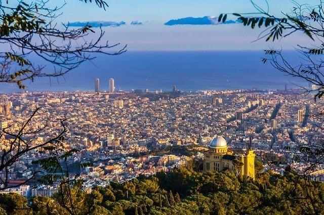 Barcelona em maio