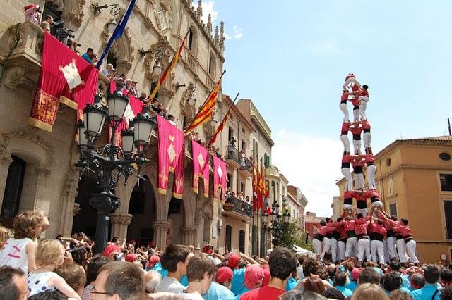 Festa de Mercé em Barcelona