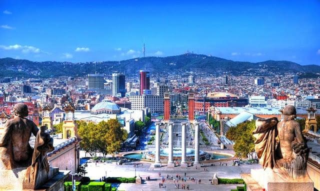 Barcelona em abril