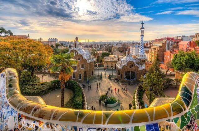 Barcelona em agosto