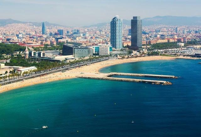 Barcelona em julho