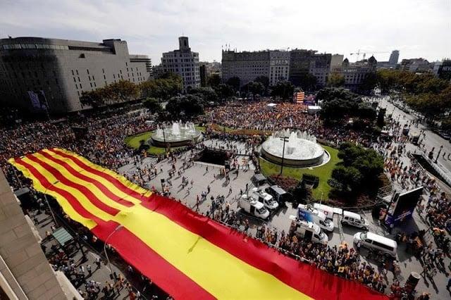 Dia de la Hispanidad em Barcelona