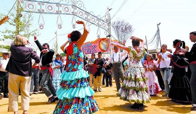 Feria de Abril de Sevilha