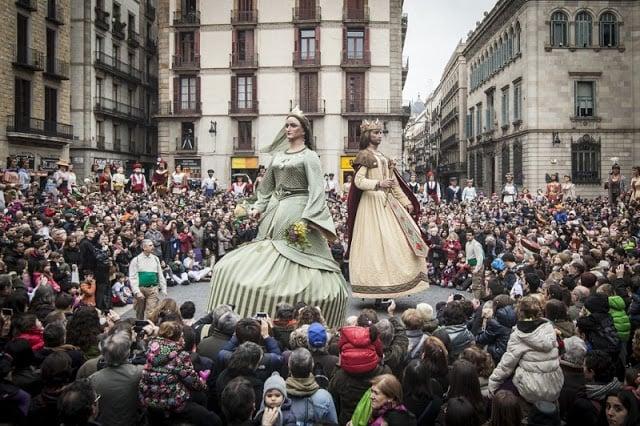 Fiesta de Santa Eulalia em fevereiro