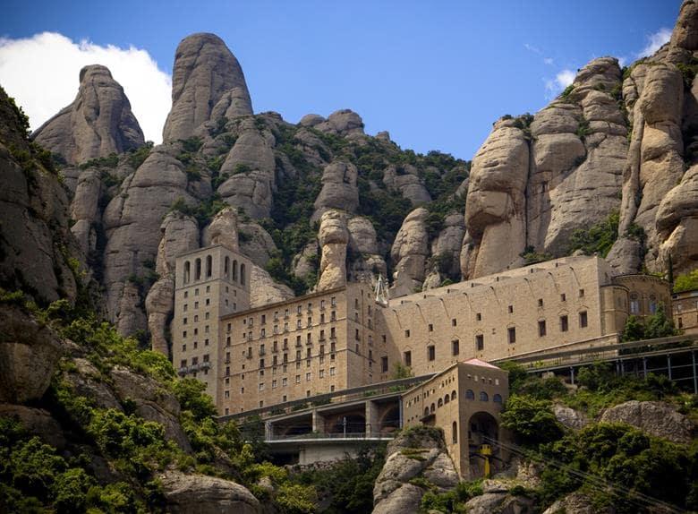 Cidade de Montserrat na Espanha