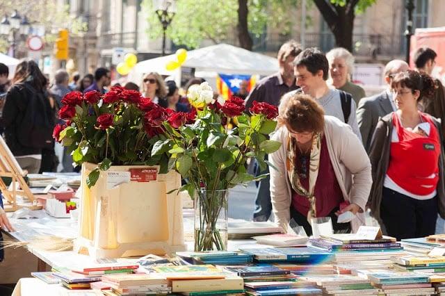 Dia de Sant Jordi em Barcelona