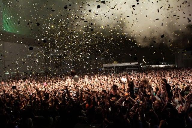 Festival Sonar em Barcelona em junho