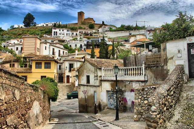 Bairro Albaicin em Granada