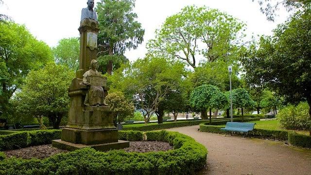 Parques em Santiago de Compostela - Parque de la Alameda