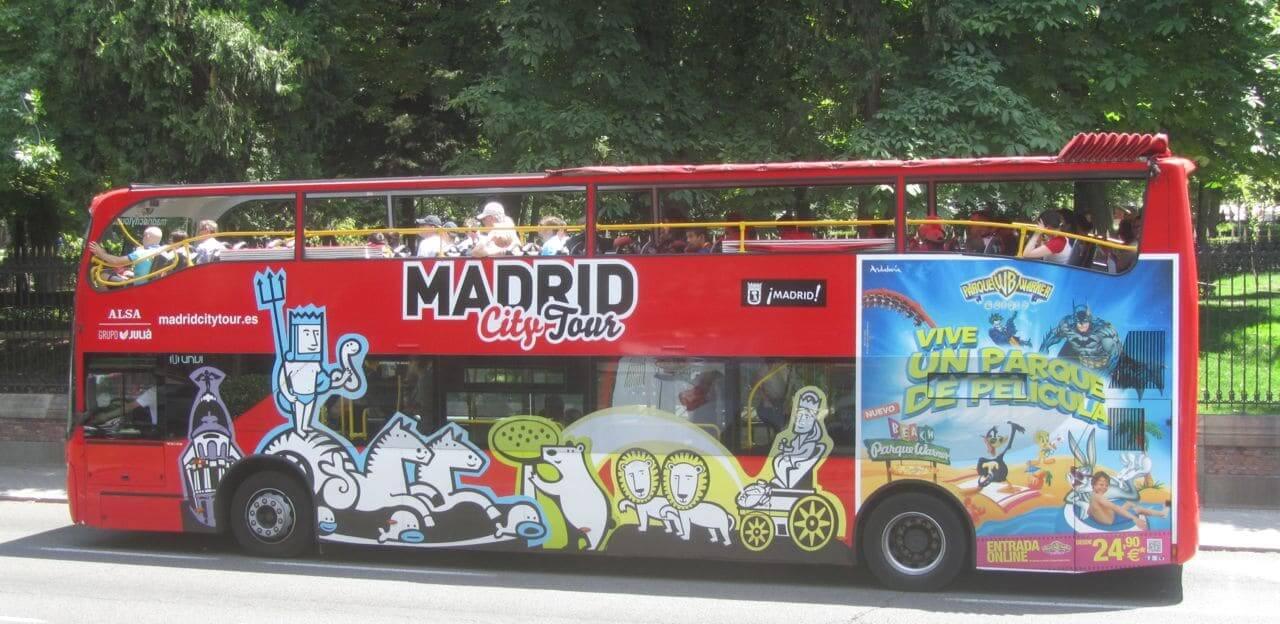 Ônibus Hop On Hop Off Madri