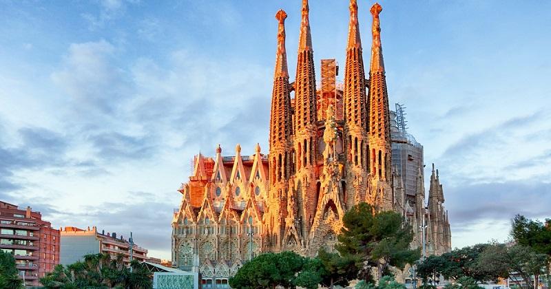 Vista da Sagrada Família