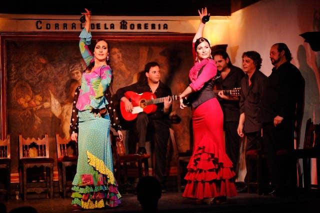 Apresentação de Flamenco em Madri