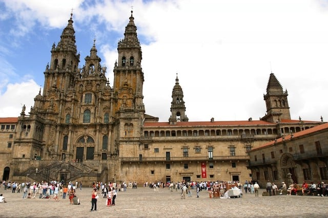 Catedral de Santiago de Compostela - centro
