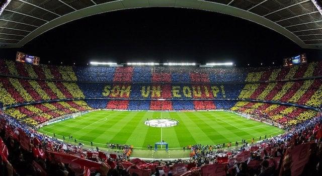 Campeonato Espanhol - Estádio Camp Nou