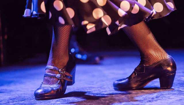 Detalhes do show de flamenco em Madri