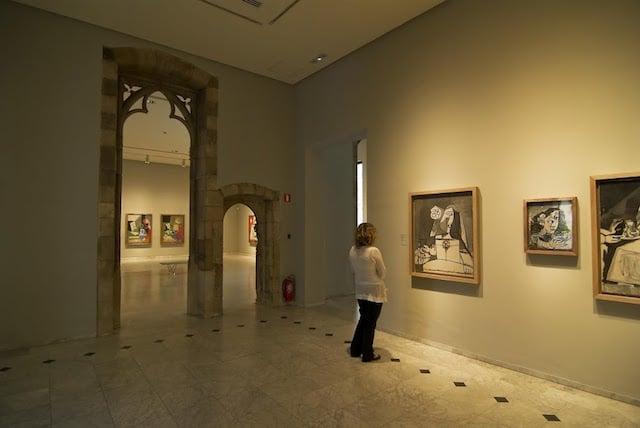 Visita ao Museu Picasso em Barcelona