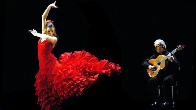 Jantar e noite de Flamenco em Madri
