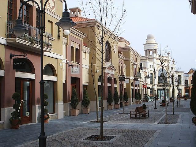Las Rozas Villageem Madri