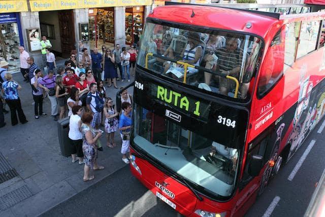 Ônibus Hop On Hop Off em Madri - Ruta 1