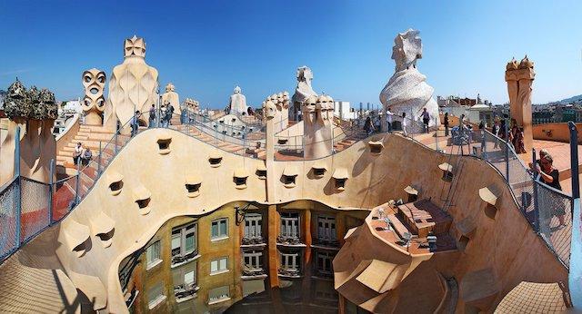 Ingressos para a Casa Milà em Barcelona