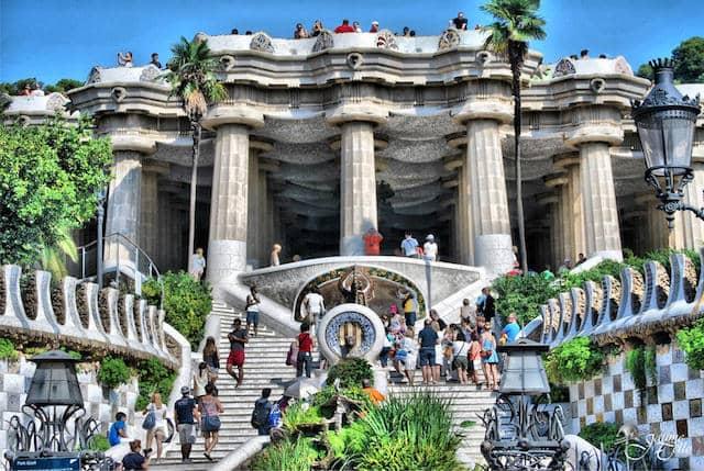 Ingressos para o Park Güell em Barcelona
