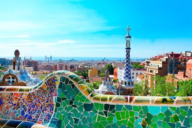 Parque Güell em Barcelona