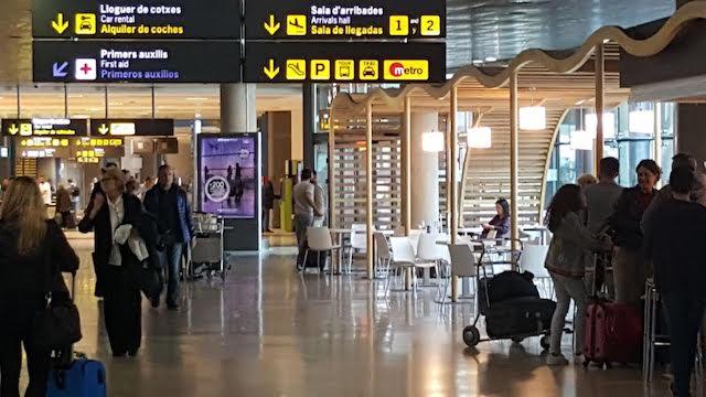 Aeroporto de Valência - interior