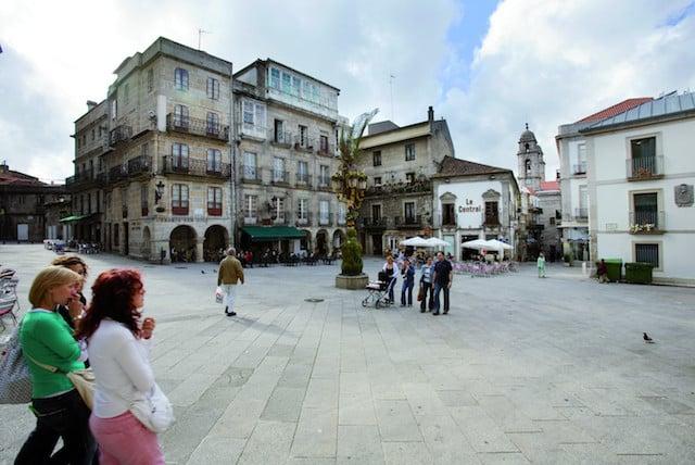 Hospedagem no centro histórico de Vigo