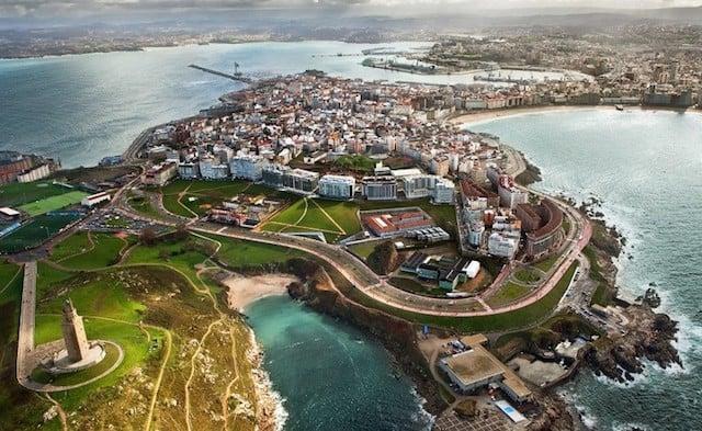 Pontos Turísticos de A Coruña