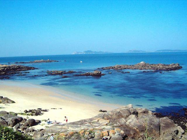 Hospedagem na Praia Samil Vigo