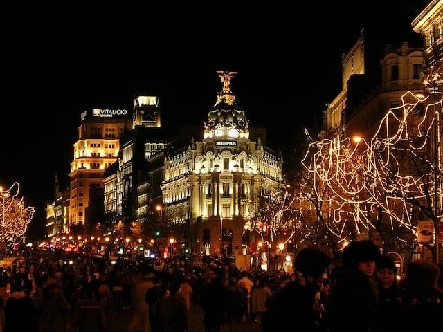 O que fazer no Natal em Madri