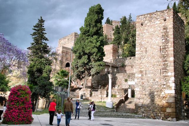 Alcazaba em Málaga