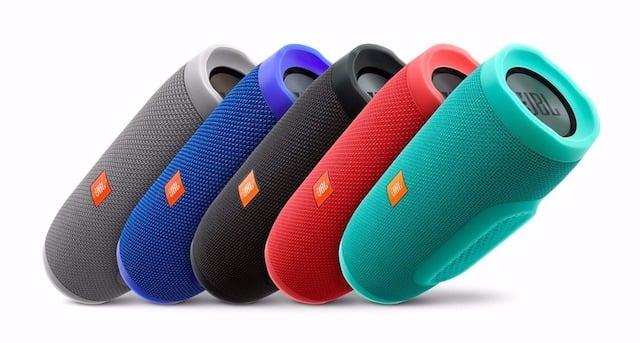 Caixa de som JBL - cores