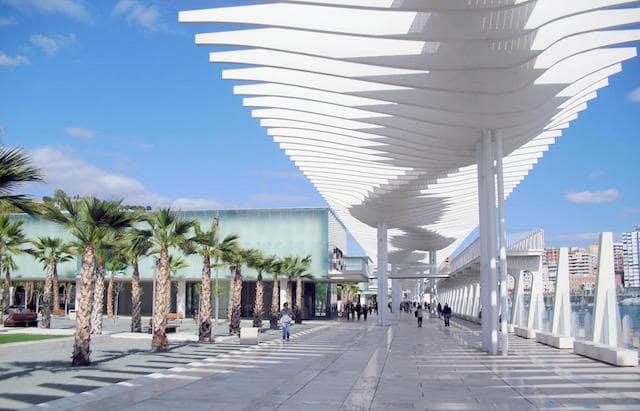 Muelle Uno em Málaga