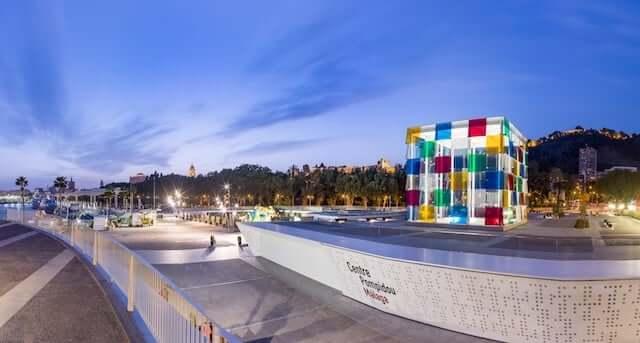 Museus de Málaga - Centre Pompidou