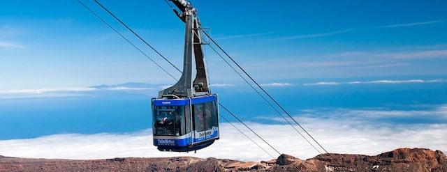 Subir ao Teleférico del Teide