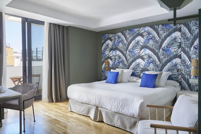 Hotel Vincci Selección Posada del Patio em Málaga - quarto
