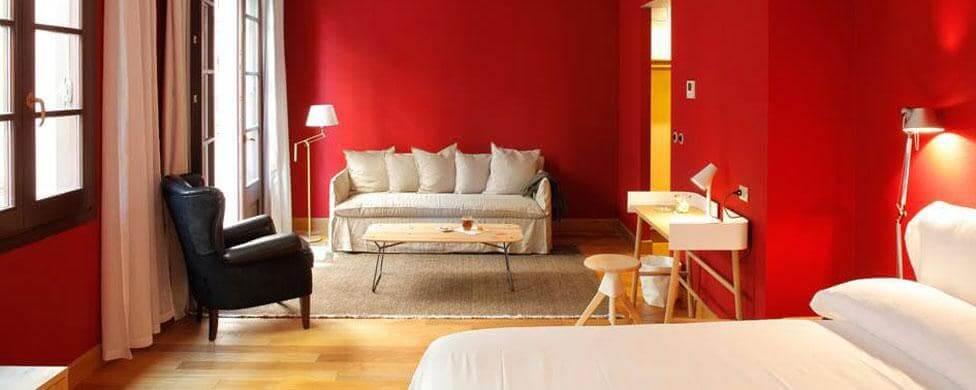 Hotel Casa Camper em Barcelona - quarto