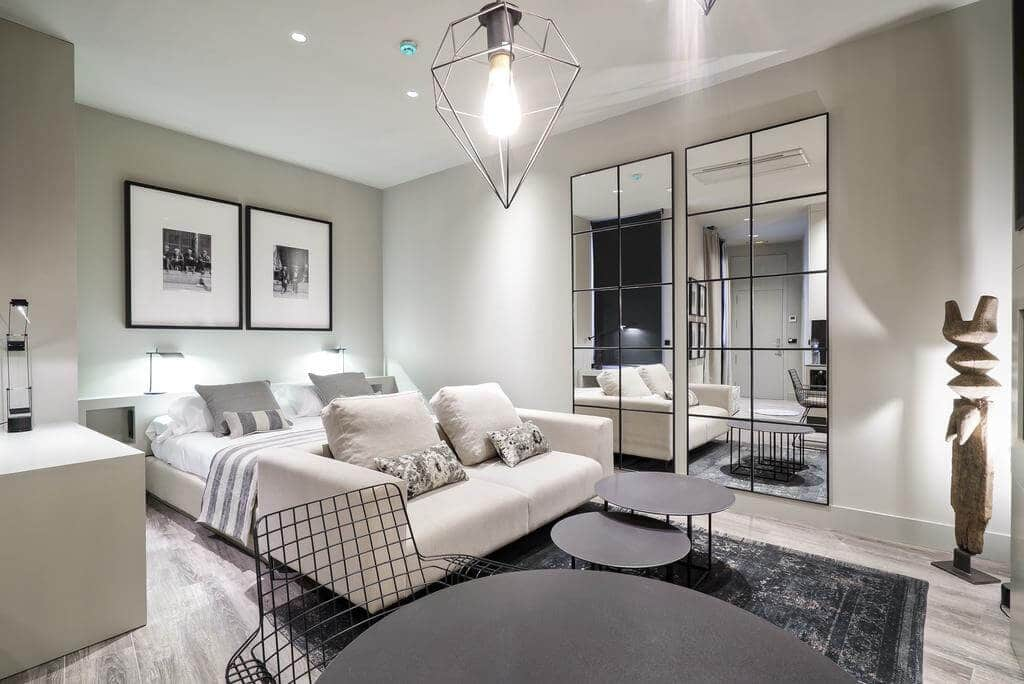 Cathedral Suites Hotel em Valência - quarto