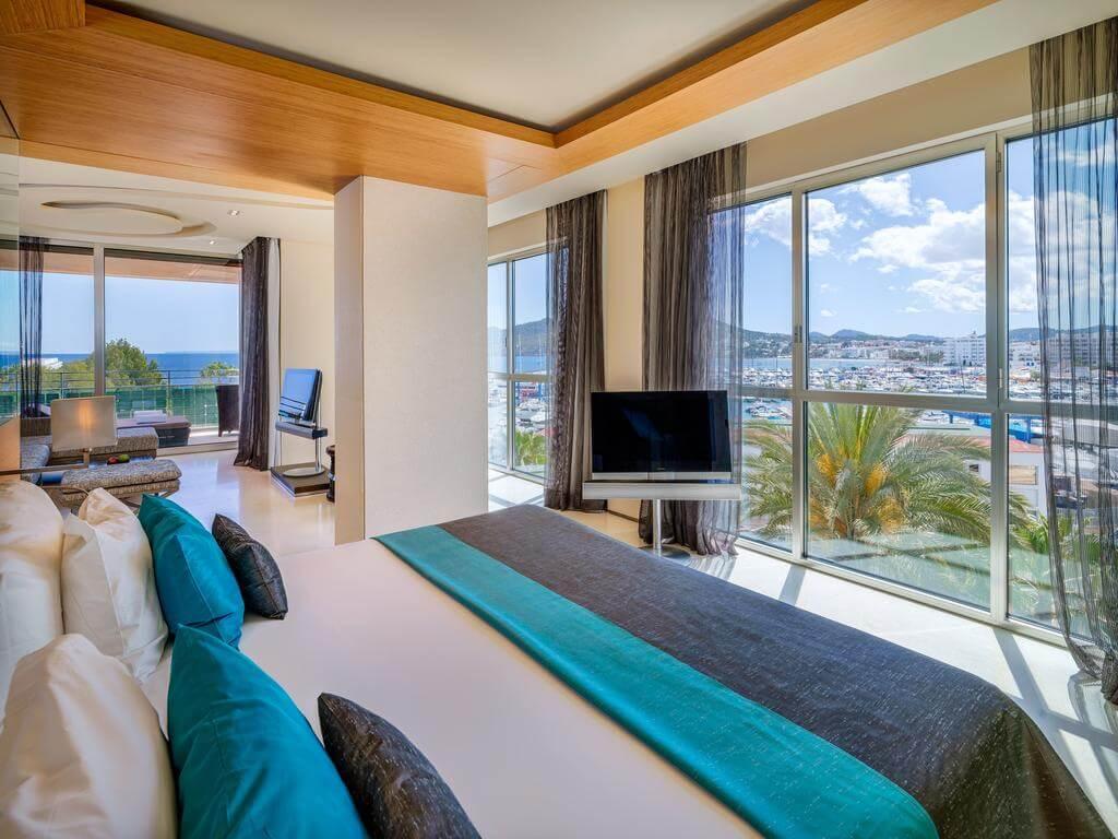 Hotel Aguas de Ibiza - quarto