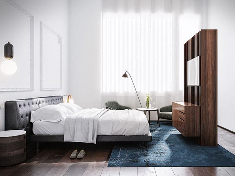 Hotel Mercer em Sevilha - quarto