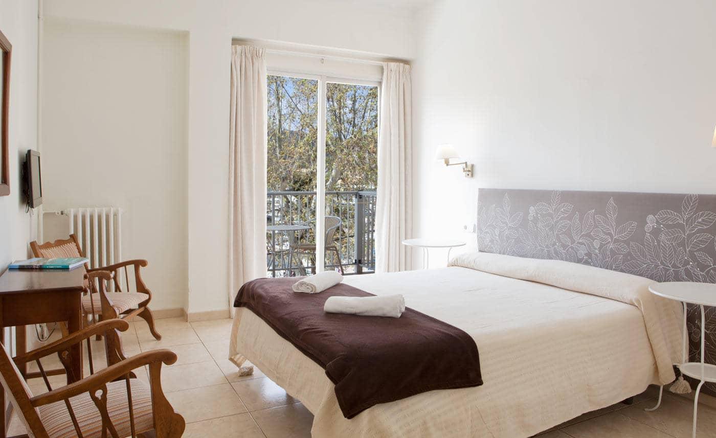 Hotel Miramar em Maiorca - quarto