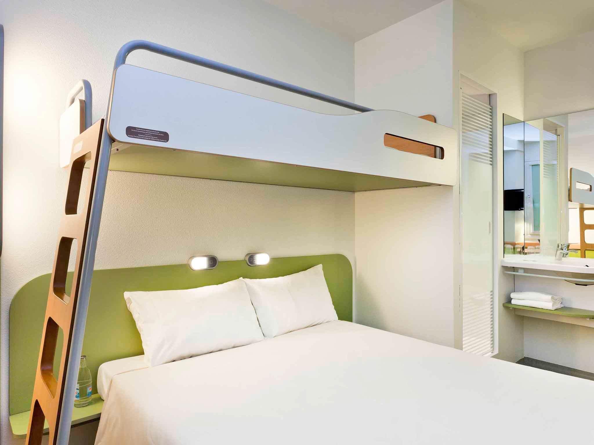Hotel Ibis Budget Centro em Málaga - quarto