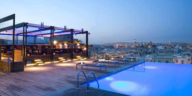 Hotéis de luxo em Barcelona