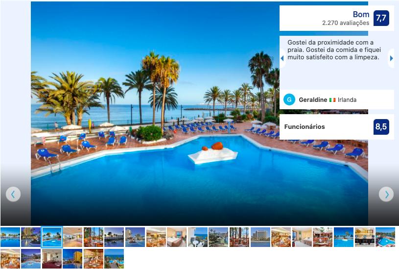 Hotel Sol em Tenerife