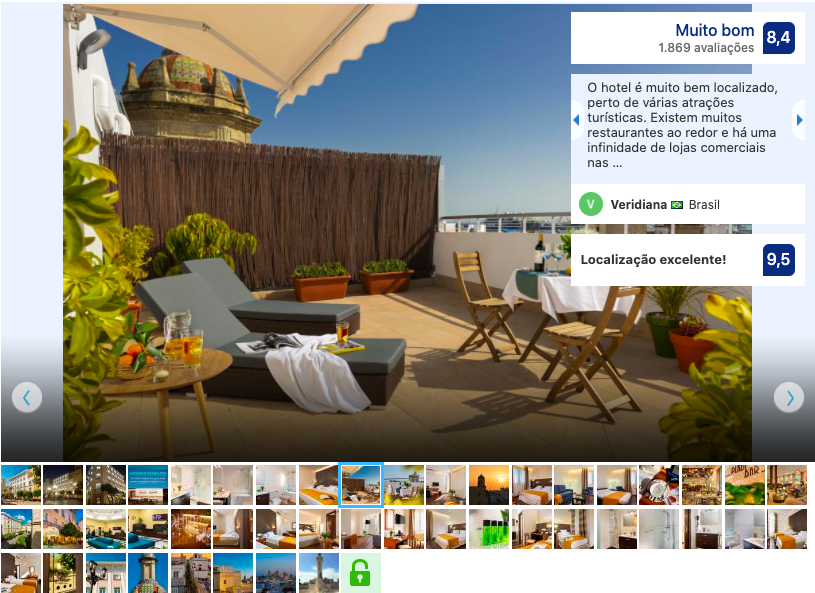 Hotel Francia Y Paris em Cádiz