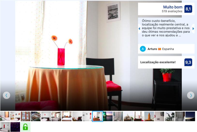 Hotel - Pensión Las Rías em A Coruña