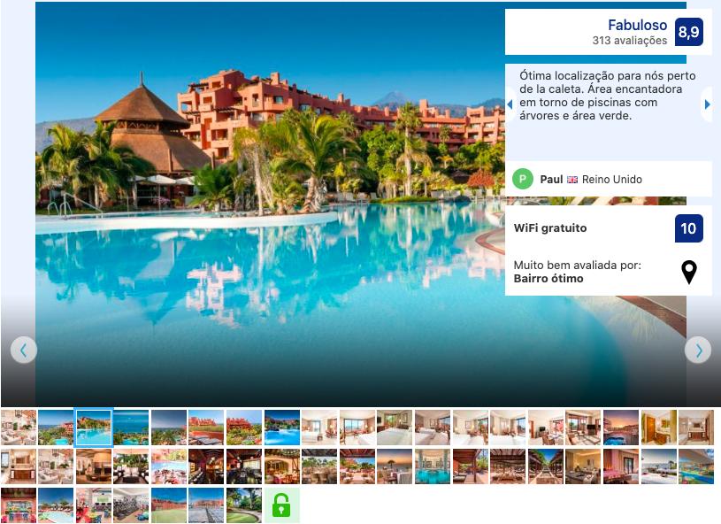 Hotel Sheraton La Caleta Resort & Spa em Tenerife